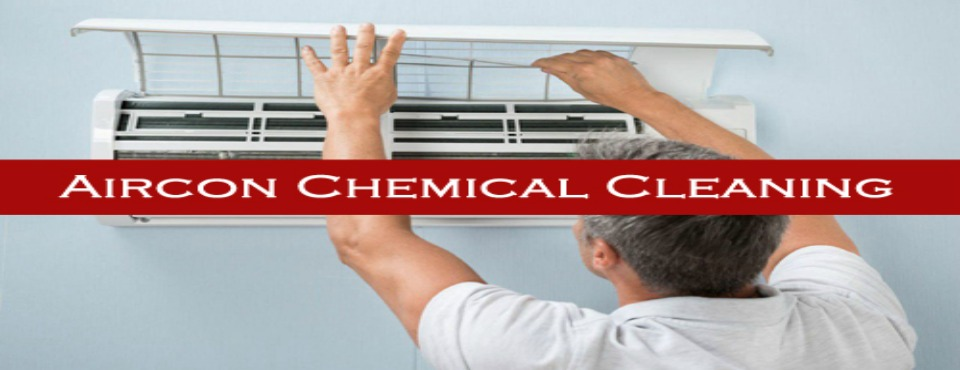 Aircon chemical cleaning