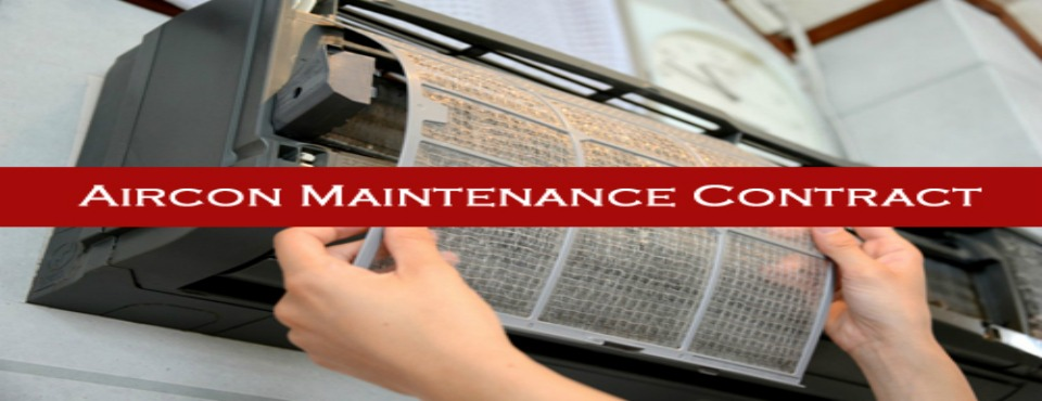 Airconditioners maintenance contract